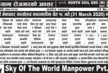 sky of the word manpower