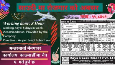 Job Vacancy in Saudi